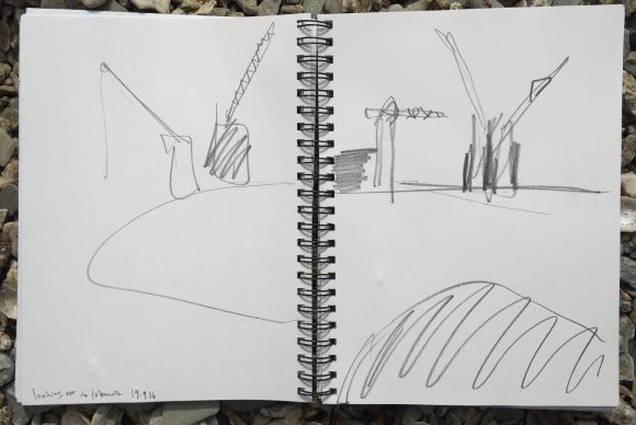 Cranes @ Falmouth harbour